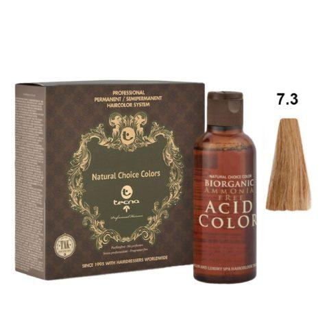 7.3 Golden mid blonde Tecna NCC Biorganic acid color 3x130ml