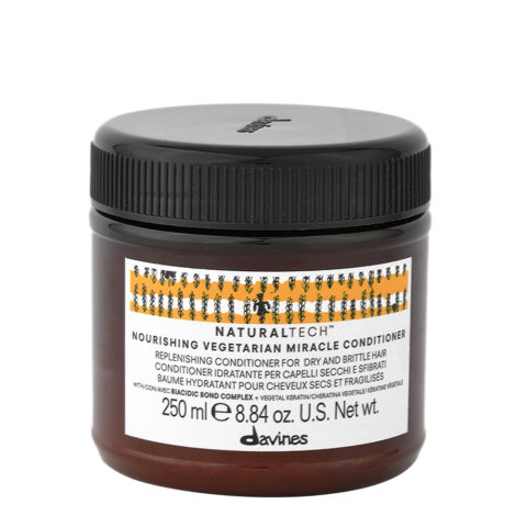 Davines Naturaltech Nourishing Vegetarian Miracle Conditioner 250ml - Restructuring mask