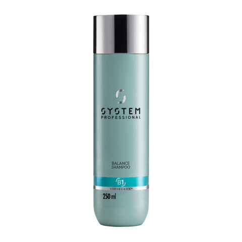 System Professional Balance Shampoo B1, 250ml - Sensitive Scalp Shampoo