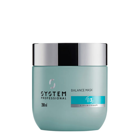System Professional Balance Mask B3, 200ml - Sensitive Scalp Mask