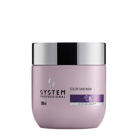 System Professional Color Save Mask C3, 200ml - Coloured hair Mask