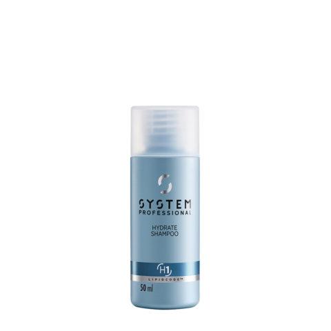 System Professional Hydrate Shampoo H1, 50ml - Hydrating Shampoo