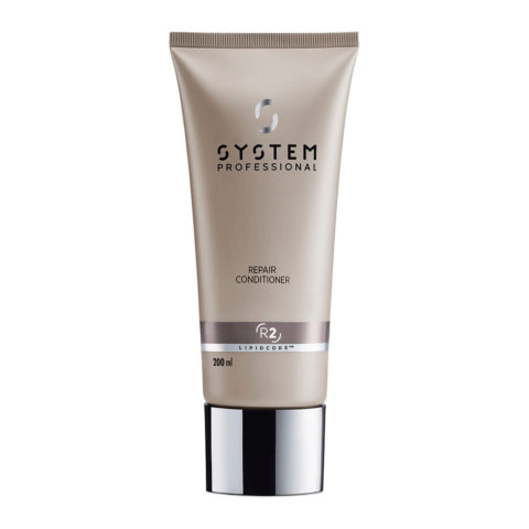 System Professional LuxeOil Conditioning Cream L2, 200ml - Keratin Conditioner Damaged hair