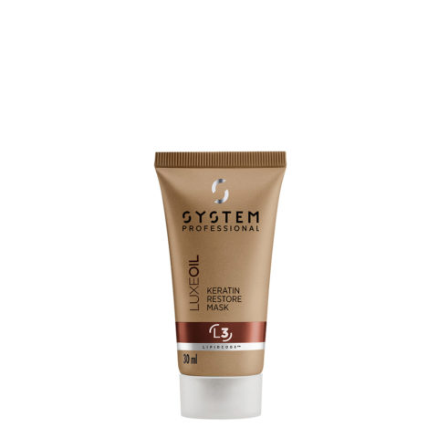 System Professional LuxeOil Mask L3, 30ml - Keratin Mask Damaged hair