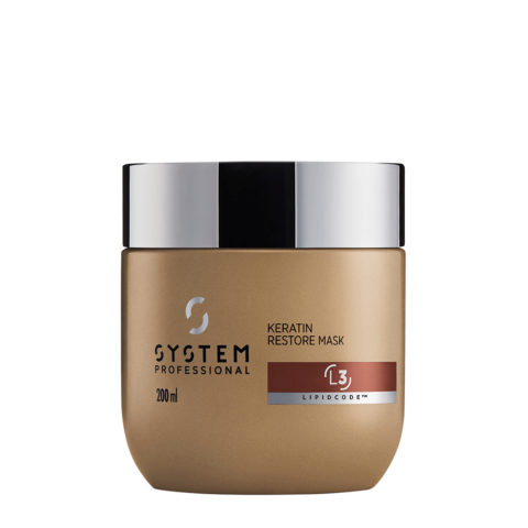 System Professional LuxeOil Mask L3, 200ml - Keratin Mask Damaged hair