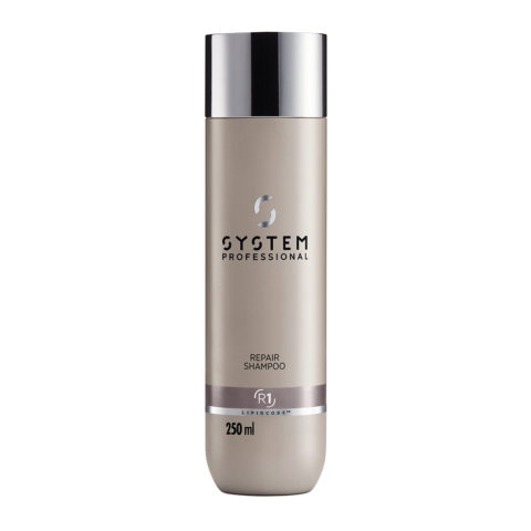 System Professional Repair Shampoo R1, 250ml - Shampoo for Damaged hair