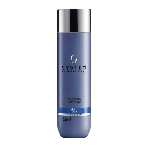 System Professional Smoothen Shampoo S1, 250ml - Antifrizz Shampoo