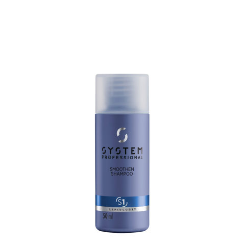 System Professional Smoothen Shampoo S1, 50ml - Antifrizz Shampoo