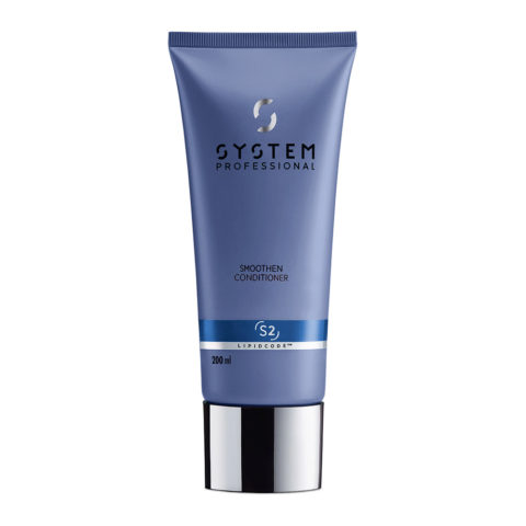 System Professional Smoothen Conditioner S2, 200ml - Antifrizz Conditioner