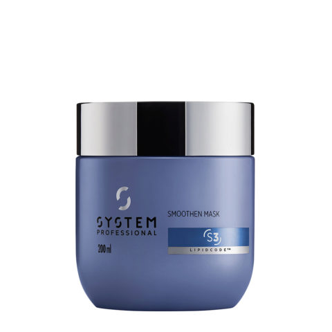 System Professional Smoothen Mask S3, 200ml - Antifrizz Mask
