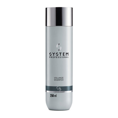 System Professional Volumize Shampoo V1, 250ml - Volumizing Shampoo