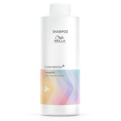 Wella Color Motion Shampoo 1000ml - Shampoo for Coloured hair