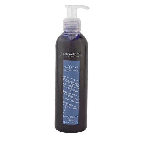 Jean Paul Myne Navitas Organic Touch shampoo Blueberry Ice 250ml - Coloured Shampoo