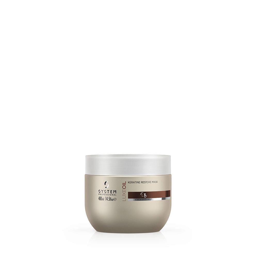 System Professional LuxeOil Mask L3, 400ml - Keratin Mask Damaged hair