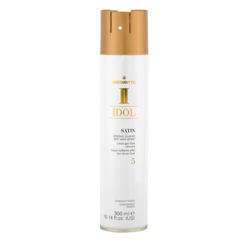 Medavita Idol Styling Satin Strong Shaper Dry Hairspray 5,  300ml