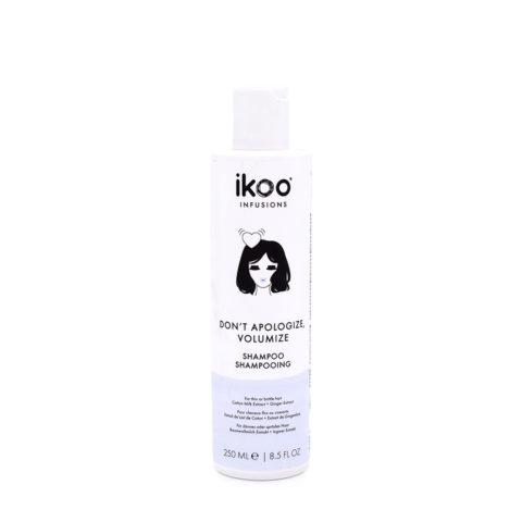 Ikoo Don't Apologize, Volumize Shampoo 250ml - For Fine Hair