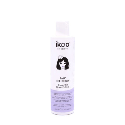 Ikoo Talk the Detox Shampoo 250ml - Very Damaged And Tainted Hair