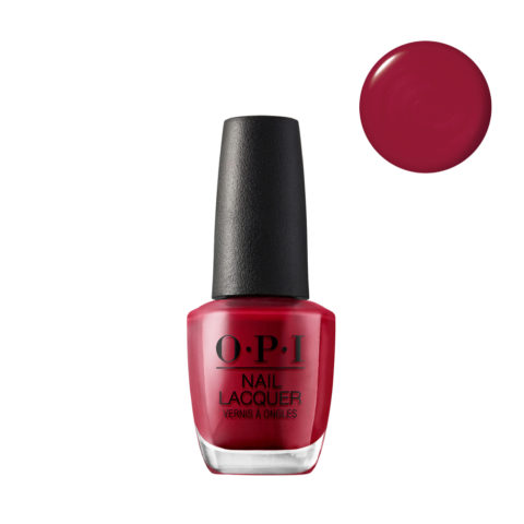 OPI Nail Lacquer NL L72 Red 15ml