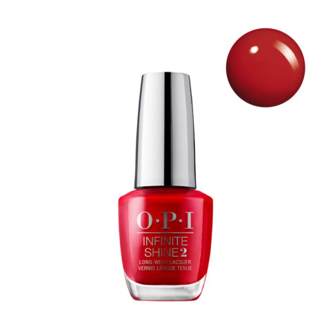 OPI Nail Lacquer Infinite Shine ISL N25 Big Apple Red 15ml