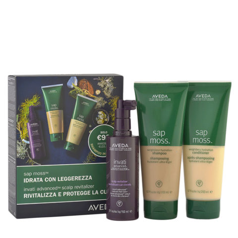 Aveda Sap Moss Hydrating Kit and Shampoo Free