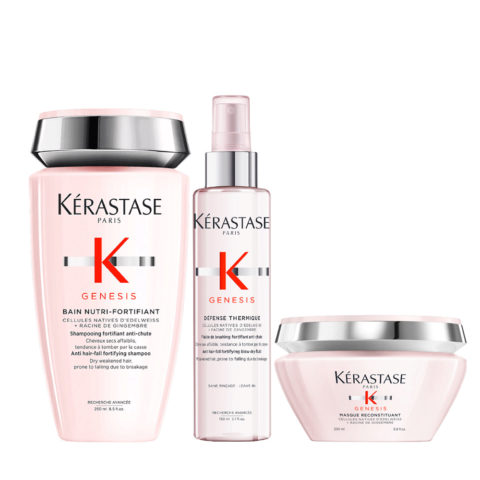 Kerastase Genesis Intensive Nourishment Ritual And Protection For Dry And Thick Hair