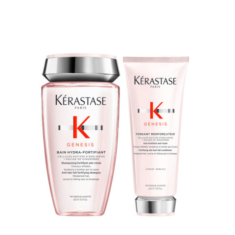 Kerastase Genesis Kit Shampoo 250ml + Conditioner 200ml Strengthening And Moisturizing