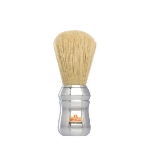 Omega Shaving Brush Silver