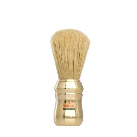 Omega Shaving Brush Gold Delux
