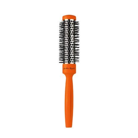 Gettin fluo Orange Thermal Brush 25mm