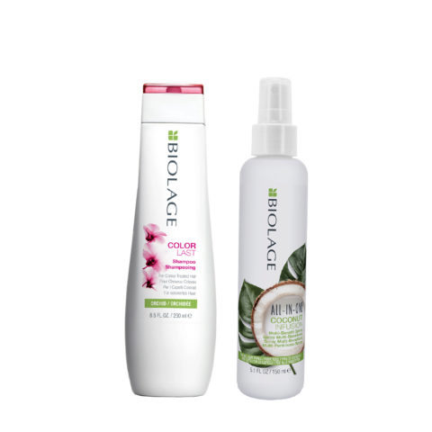 Biolage Colorlast Shampoo 250ml e All In One Coconut Spray 150ml