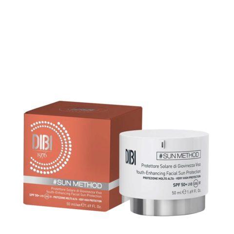 Dibi Milano Sun Method Protettore Solare Giovinezza Viso Spf 50+, 50ml - Sunscreen Face Cream