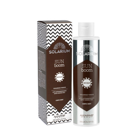 Solarium Totalbronze Paradise Super Tanning Milk 200ml - body Intensifier