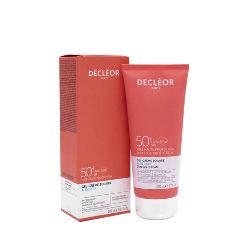 Decléor Gel crème Solaire SPF50+, 200ml - Sun gel cream