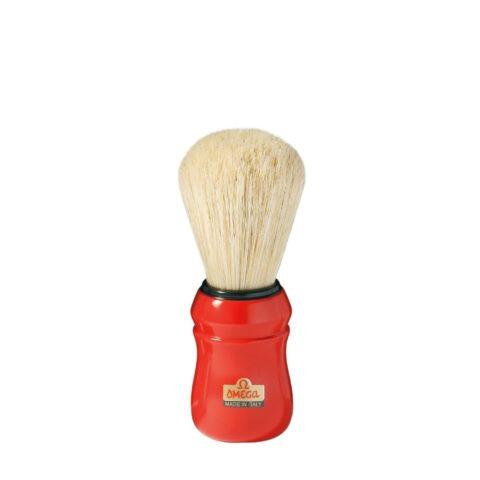 Omega Shaving Brush Red