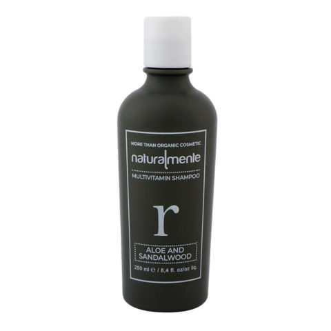 Naturalmente Multivitamin Shampoo Aloe & Sandalwood 250ml