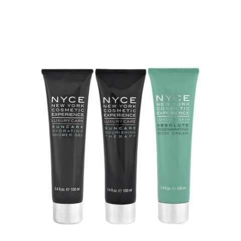 Nyce Suncare Shower gel 100ml Nourishing therapy 100ml Body cream 100ml