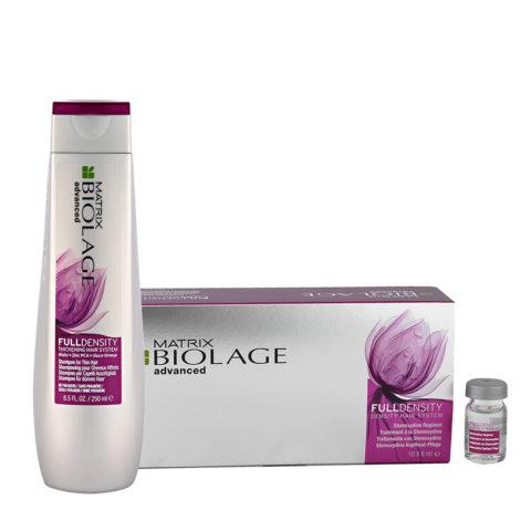 Biolage advanced FullDensity Shampoo 250ml Stemoxydina fiale 10x6ml