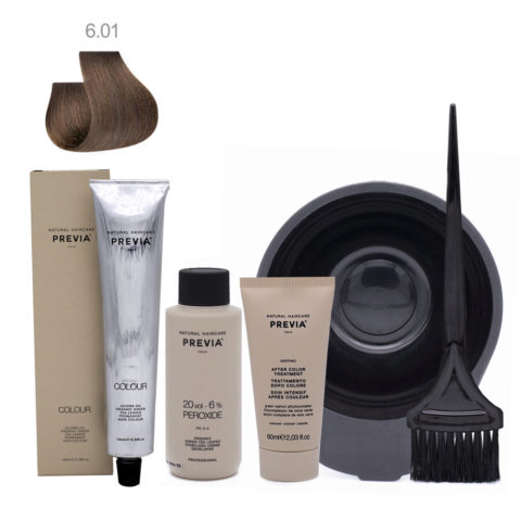 Previa Color Do It Yourself Kit 6.01 Dark Natural Ash Blonde