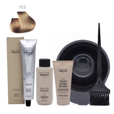 Previa Color Do It Yourself Kit 11.0 Intense Natural Ultra Platinum
