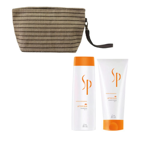 Wella SP After sun shampoo 250ml Conditioner 200ml Bag free