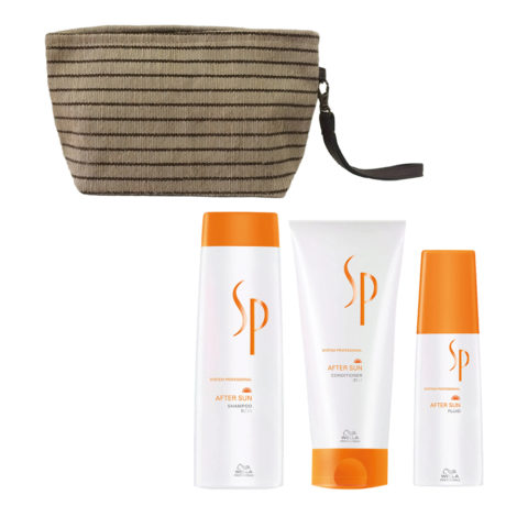 Wella SP After sun shampoo 250ml Conditioner 200ml Aftersun Fluid 125ml Bag free