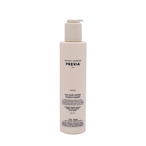 Previa Keeping Colour shine Conditioner 200ml - coloured hair