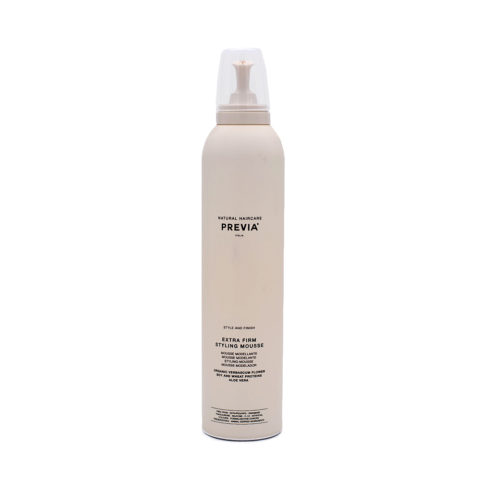 Previa Finish Extra Firm Styling Mousse 300ml - extra strong foam