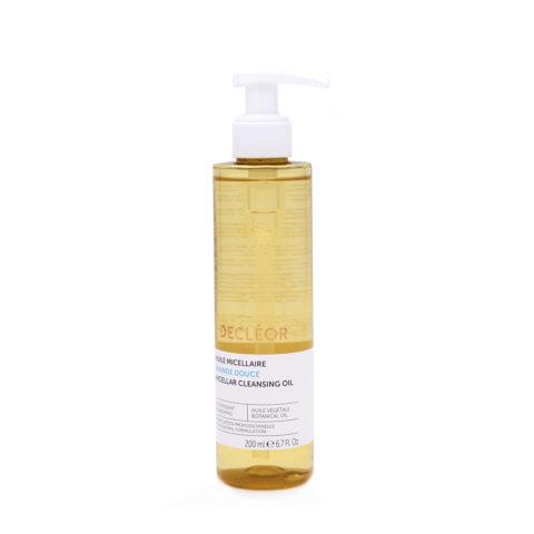 Decléor Huile Micellaire Amande Douce 200ml - micellar cleansing oil