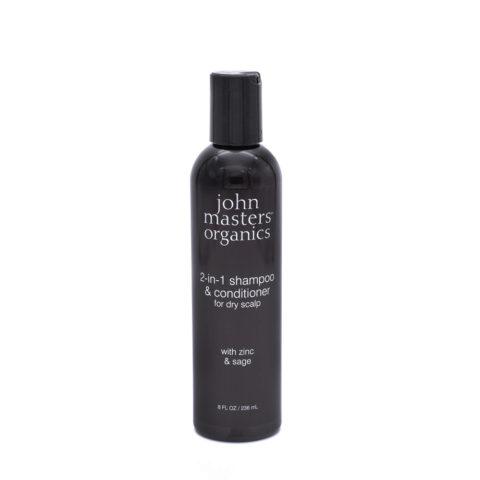 John Masters Organics 2 in 1 Shampoo & Conditioner for Dry Scalp 236ml