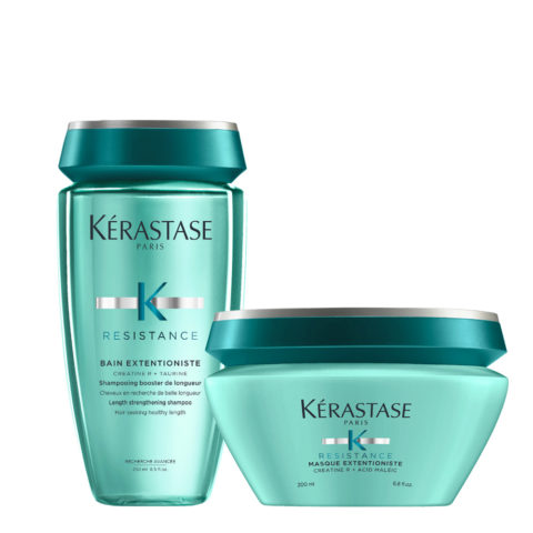 Kerastase Résistance Extentioniste Bain 250ml Masque 200ml