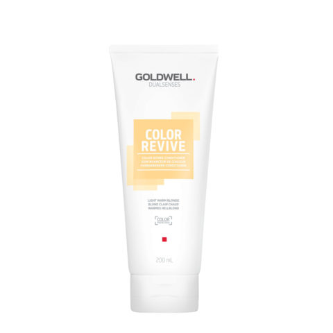Goldwell Dualsenses Color Revive Colored Conditioner Light Warm Blonde 200ml