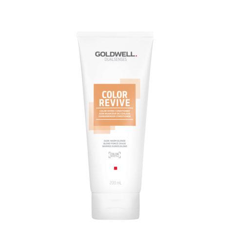 Goldwell Dualsenses Color Revive Colored Conditioner Dark Warm Blonde 200ml