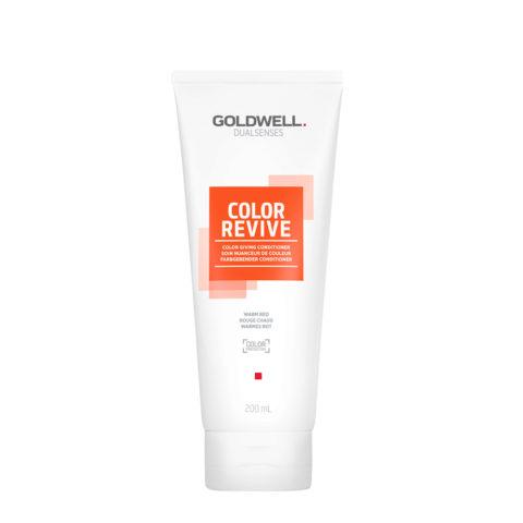 Goldwell Dualsenses Color Revive Balsamo colorato Warm Red 200ml