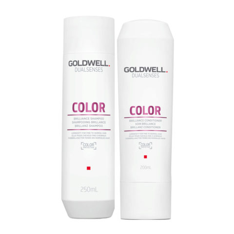 Goldwell Dualsenses Color Brilliance shampoo 250ml and Conditioner for Coloured Hair 200ml